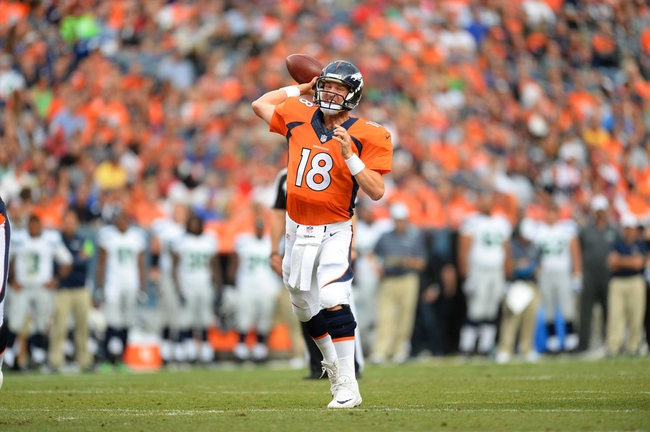 Denver Broncos vs. Houston Texans 8/23/14 NFL Pick, Odds, Prediction