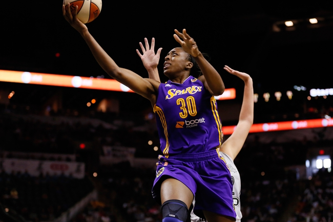 Chicago Sky vs. Los Angeles Sparks - 8/16/15 WNBA Pick, Odds, and Prediction