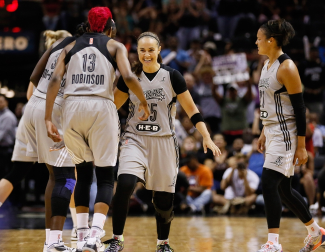 New York Liberty vs. San Antonio Stars - 6/11/16 WNBA Pick, Odds, and Prediction