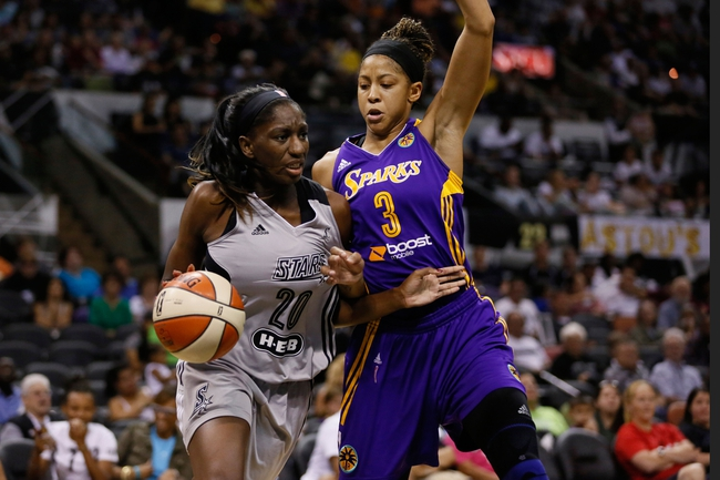 San Antonio Stars vs. Los Angeles Sparks - 6/2/16 WNBA Pick, Odds, and Prediction