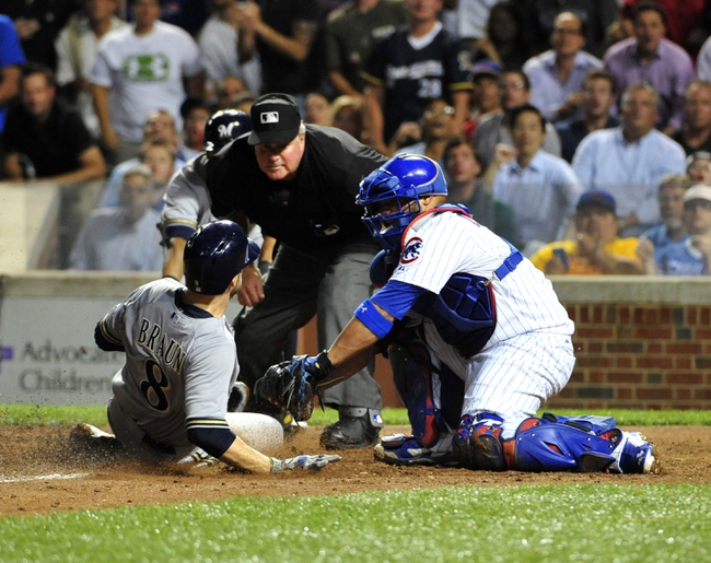 Chicago Cubs vs. Milwaukee Brewers MLB Pick, Odds, Prediction - 8/12/14