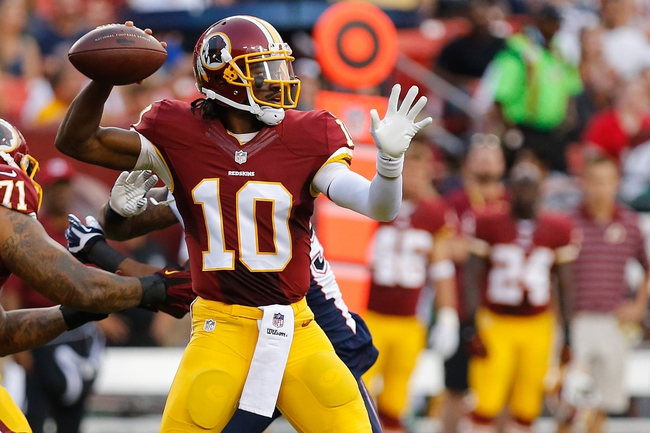 Monday Night Football: Cleveland Browns at Washington Redskins NFL Pick, Odds, Prediction 8/18/14