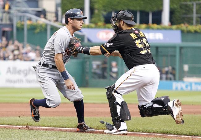 Detroit Tigers vs. Pittsburgh Pirates MLB Pick, Odds, Prediction - 8/13/14