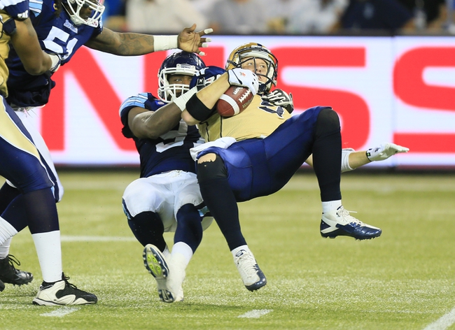 Edmonton Eskimos vs. Toronto Argonauts CFL Pick, Odds, Prediction - 6/27/15