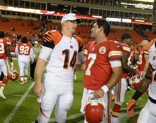 Kansas City Chiefs at Cincinnati Bengals- 10/4/15 NFL Pick, Odds, and Prediction