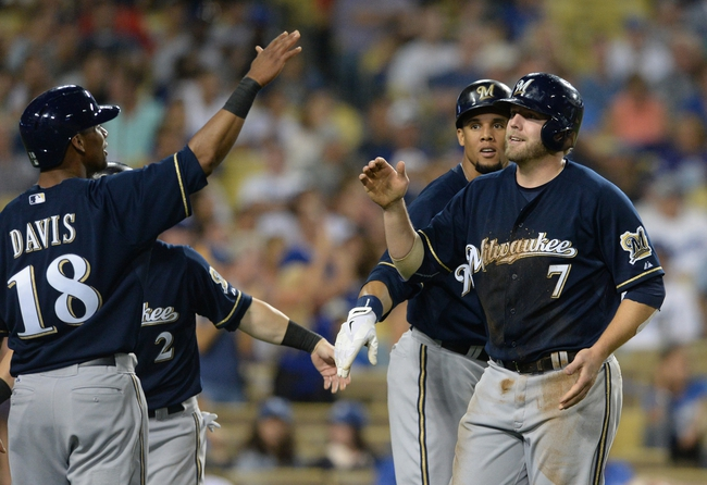 Los Angeles Dodgers vs. Milwaukee Brewers Pick-Odds-Prediction - 8/16/14
