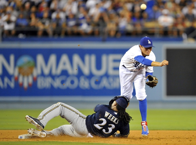 Los Angeles Dodgers vs. Milwaukee Brewers Pick-Odds-Prediction 8/17/14