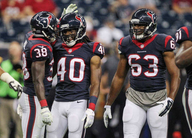 Houston Texans at Atlanta Falcons- 10/4/15 NFL Pick, Odds, and Prediction