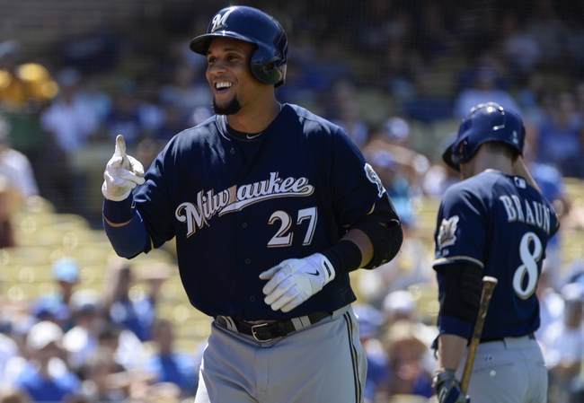 Brewers vs. Dodgers - 5/4/15 MLB Pick, Odds, and Prediction