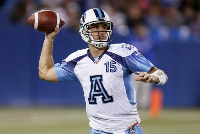 Hamilton Tiger-Cats vs. Toronto Argonauts CFL Pick, Odds, Prediction - 6/23/16
