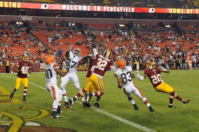 Redskins vs. Browns - 8/13/15 NFL Pick, Odds, and Prediction
