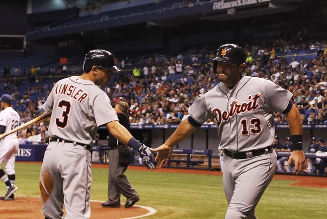 Tampa Bay Rays vs. Detroit Tigers MLB Pick, Odds, Prediction - 8/20/14