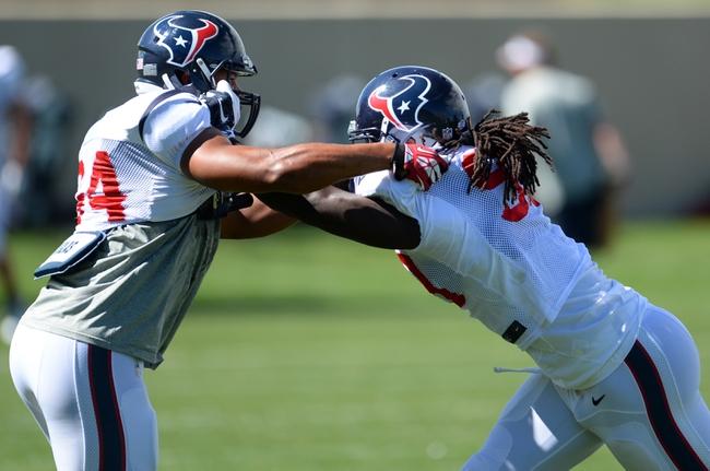 Houston Texans vs. Washington Redskins - 9/7/14 NFL Pick and Odds