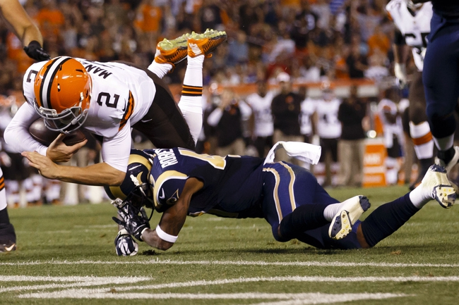 St. Louis Rams vs. Cleveland Browns - 10/25/15 NFL Pick, Odds, and Prediction