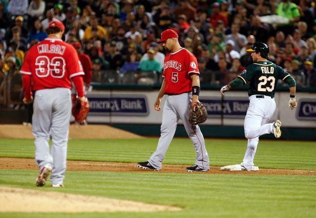 Oakland Athletics vs. Los Angeles Angels Pick-Odds-Prediction - 8/24/14