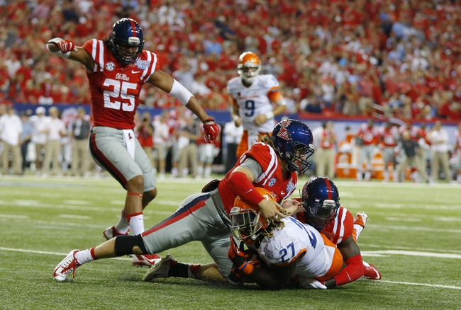 Ole Miss Rebels vs. Memphis Tigers 9/27/14 College Football Pick, Odds, Prediction