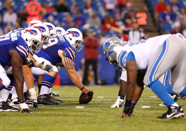 Lions vs. Bills - 10/5/14 Free NFL Pick, Odds, Prediction