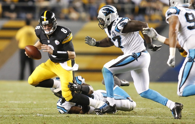 Pittsburgh Steelers at Carolina Panthers - 9/21/14