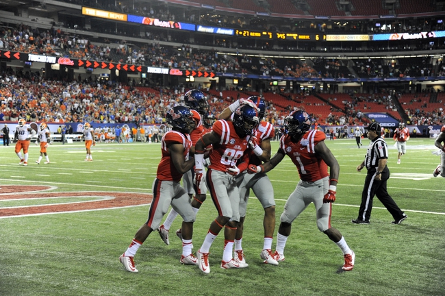 Ole Miss Rebels vs. Louisiana-Lafayette Ragin` Cajuns 9/13/14 College Football Pick and Odds