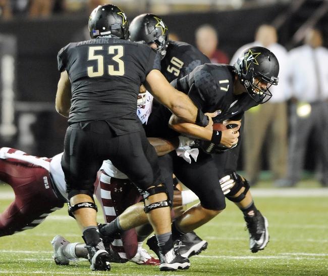 Vanderbilt Commodores vs. Ole Miss Rebels 9/6/14 College Football Pick, Odds, Prediction