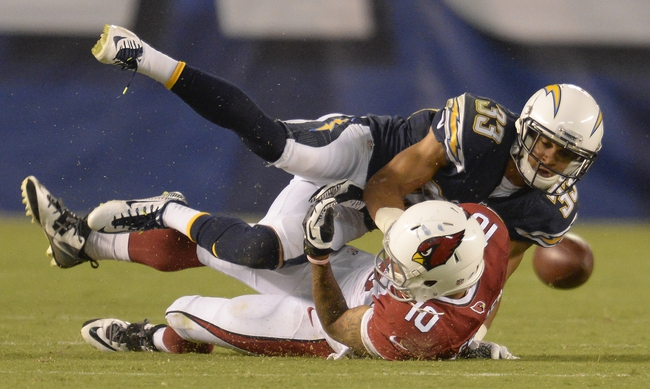 Arizona Cardinals vs. San Diego Chargers - 9/8/14 NFL Pick and Odds