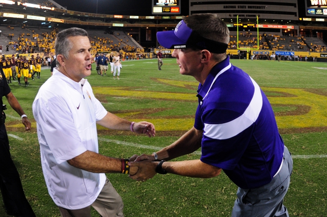 Arizona vs. Arizona State - 11/28/14 College Football Pick, Odds, and Prediction
