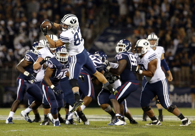 BYU vs. UConn - 10/2/15 College Football Pick, Odds, and Prediction