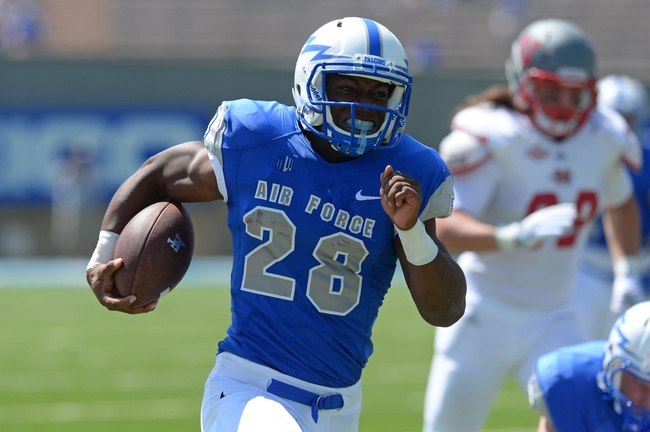 Air Force Falcons vs. Boise State Broncos Pick-Odds-Prediction - 9/27/14