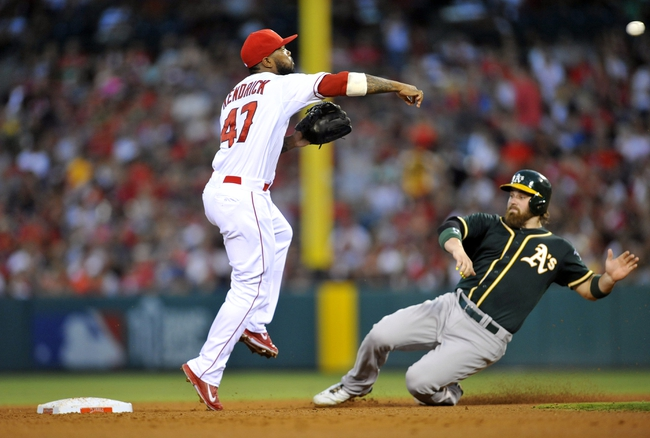 Los Angeles Angels vs. Oakland Athletics 8/31/14 MLB Pick, Odds, Prediction