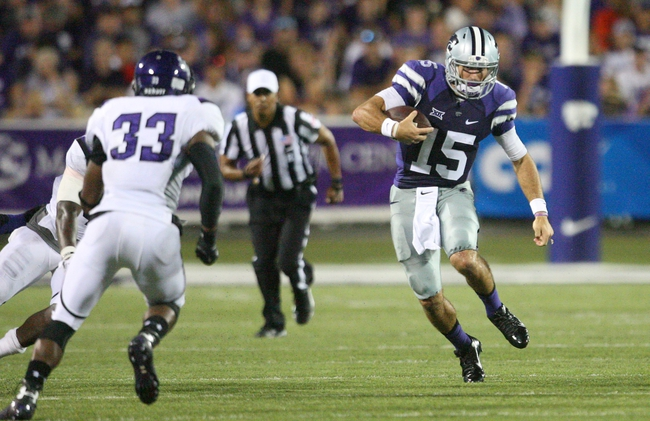 Auburn Tigers at Kansas State Wildcats 9/18/14 College Football Pick and Odds