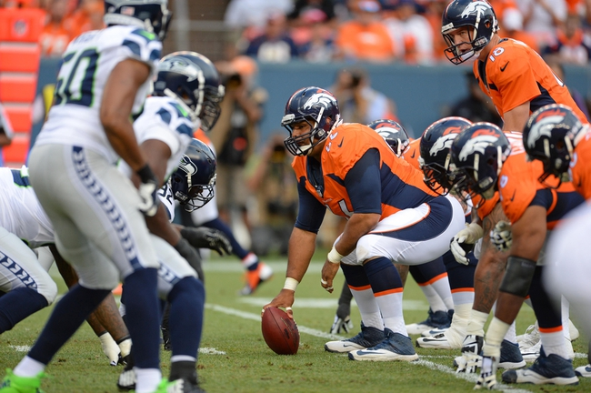 Denver Broncos at Seattle Seahawks 9/21/14 NFL Pick, Odds, Prediction