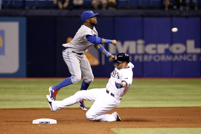 Toronto Blue Jays vs. Tampa Bay Rays MLB Pick, Odds, Prediction - 9/12/14
