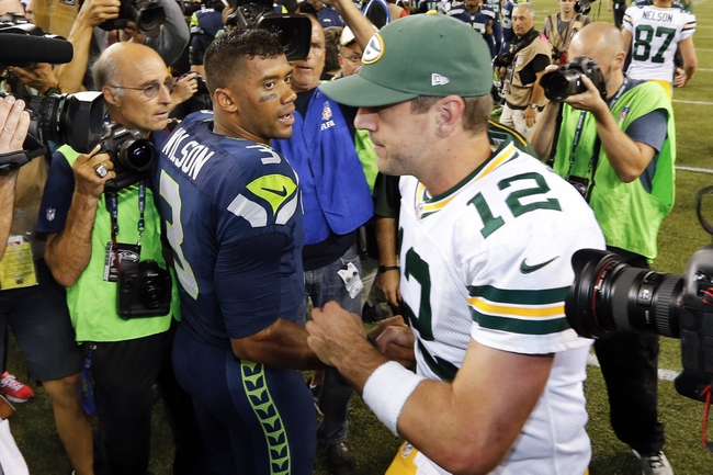 Green Bay Packers at Seattle Seahawks- 1/18/15 NFL Pick, Odds, and Prediction