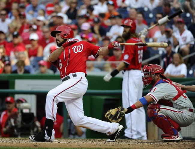 Washington Nationals vs. Philadelphia Phillies MLB Pick, Odds, Prediction - 9/7/14