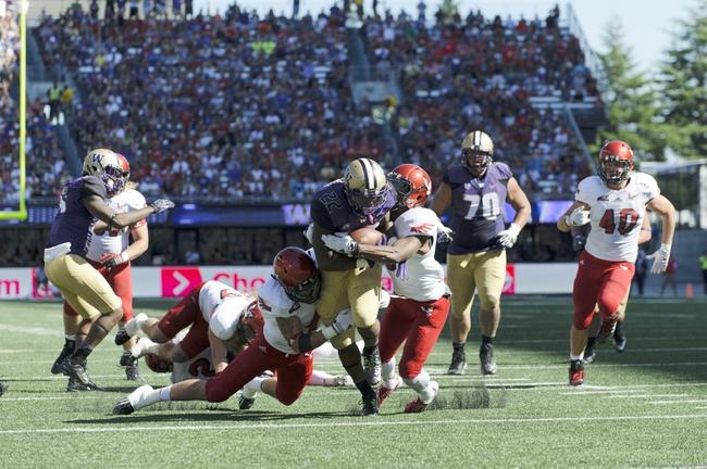 Washington Huskies vs. Georgia State Panthers 9/20/14 College Football Pick and Odds