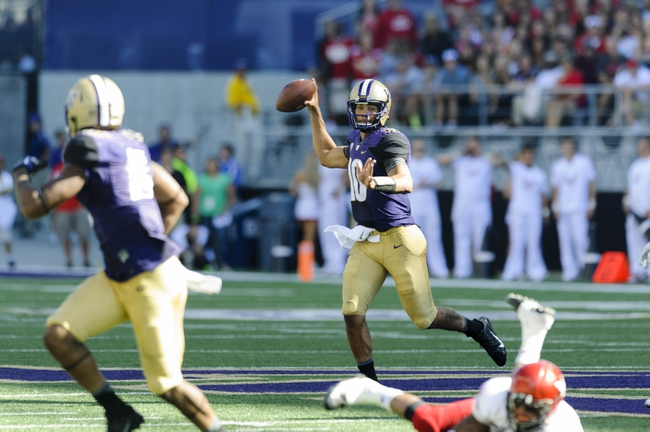 Washington Huskies vs. Stanford Cardinal 9/27/14 College Football Pick, Odds, Prediction