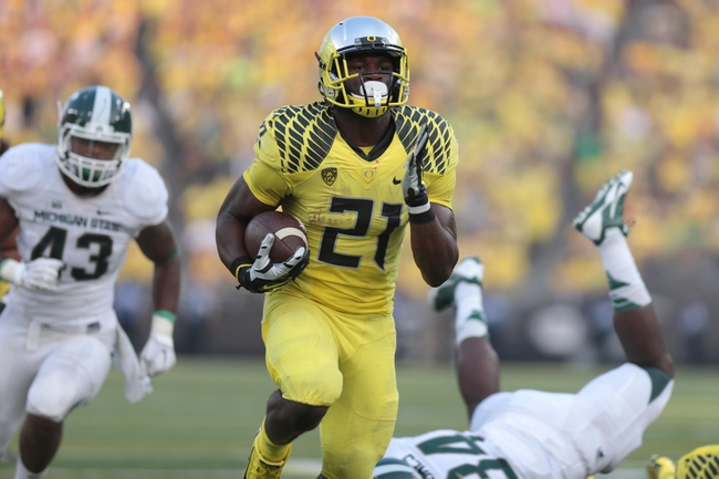 Oregon Ducks vs. Michigan State Spartans - 9/12/15 College Football Pick, Odds, and Prediction