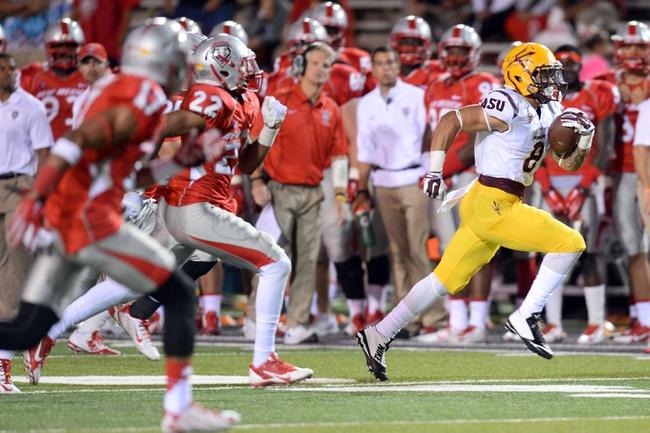 Arizona State vs. New Mexico - 9/18/15 College Football Pick, Odds, and Prediction