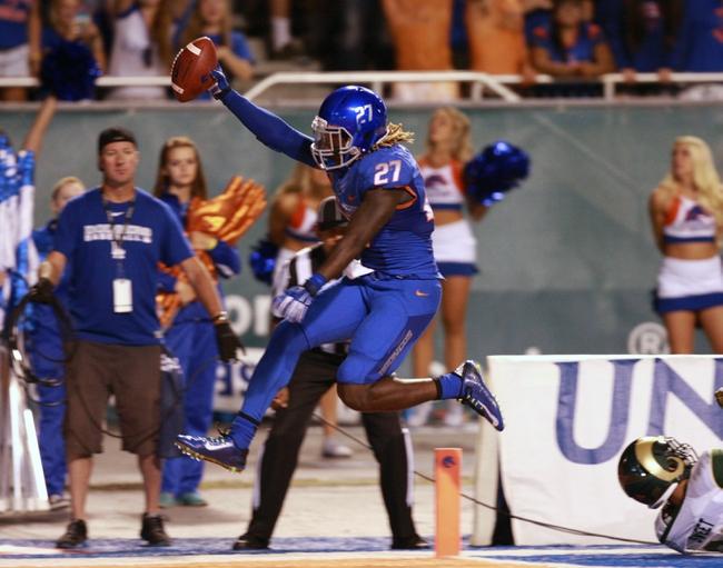 Boise State Broncos vs. Louisiana-Lafayette Ragin` Cajuns Pick-Odds-Prediction - 9/20/14