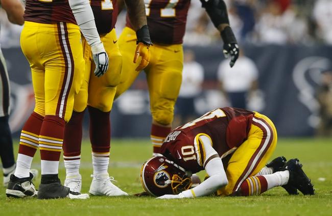 Washington Redskins vs. Jacksonville Jaguars - 9/14/14 NFL Pick and Odds