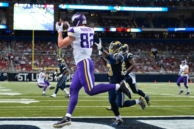 Minnesota Vikings vs. St. Louis Rams - 11/8/15 NFL Pick, Odds, and Prediction