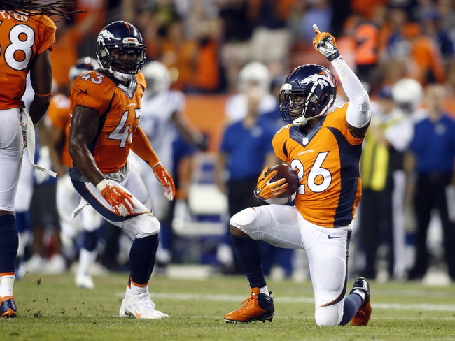 Indianapolis Colts at Denver Broncos- 1/11/15 NFL Pick, Odds, and Prediction