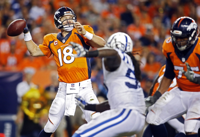 Indianapolis Colts at Denver Broncos 9/7/14 NFL Score, Recap, News and Notes