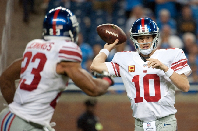 New York Giants vs. Arizona Cardinals - 9/14/14 NFL Pick and Odds