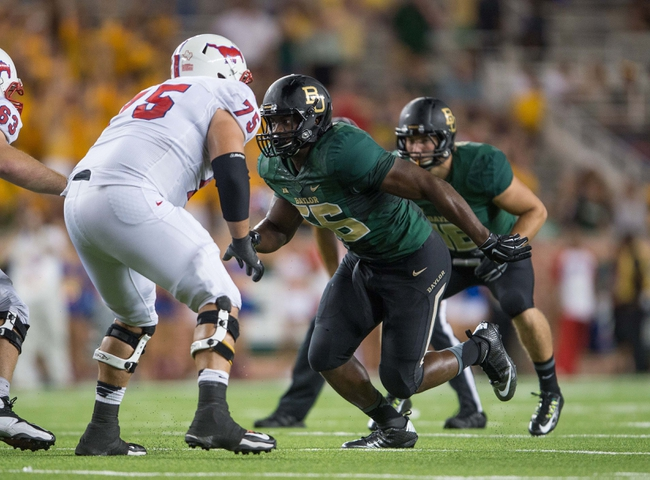 Southern Methodist Mustangs vs. Baylor Bears - 9/4/15 College Football Pick, Odds, and Prediction