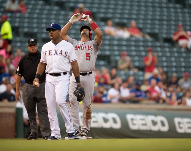 Texas Rangers vs. Los Angeles Angels MLB Pick, Odds, Prediction - 9/11/14