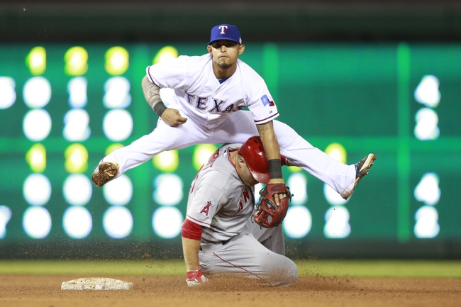 Los Angeles Angels vs. Texas Rangers Pick-Odds-Prediction - 9/19/14