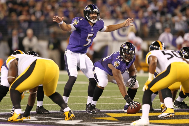Pittsburgh Steelers at Baltimore Ravens 9/11/14 NFL Score, Recap, News and Notes