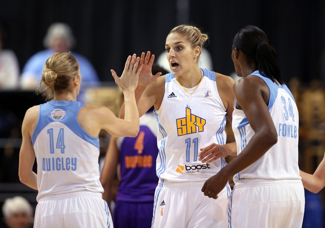 Connecticut Sun vs. Chicago Sky - 8/30/15 WNBA Pick, Odds, and Prediction