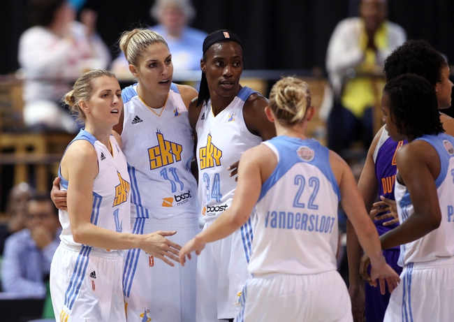 Atlanta Dream vs. Chicago Sky - 6/24/15 WNBA Pick, Odds, and Prediction